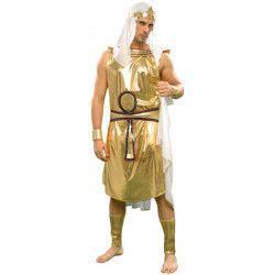 Déguisements, Déguisement pharaon Akhenaton homme taille M-L, 15286, 26,50€