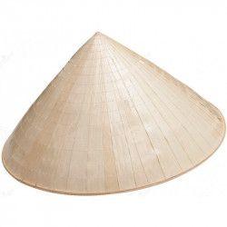 Accessoires de fête, Chapeau paille chinois adulte, 59002, 4,90€