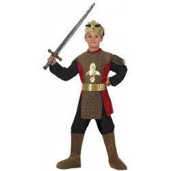 Déguisements, Déguisement chevalier médiéval enfant 4-6 ans, 19634, 15,90€
