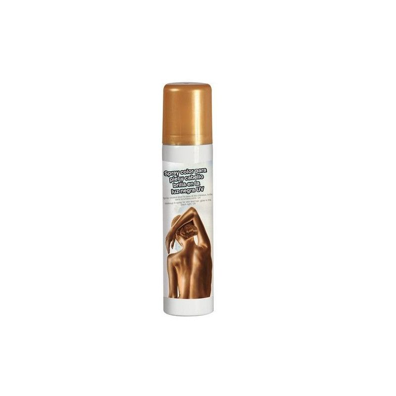 Spray or pour le corps 75 ml Accessoires de fête 17123