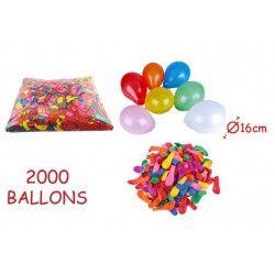 Sachet de 2000 ballons de tir N° 6 Jouets et kermesse 224