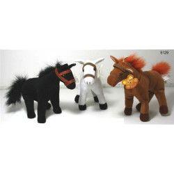 Jouets et kermesse, Peluche cheval 20 cm, 5129, 1,90€