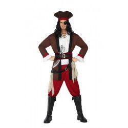 Déguisements, Déguisement pirate des Caraïbes homme, 3867-, 28,50€