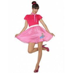 Déguisement robe années 50 rose femme Déguisements 3949-