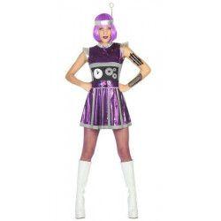 Déguisements, Déguisement de robot femme taille XS-S, 17192, 28,90€