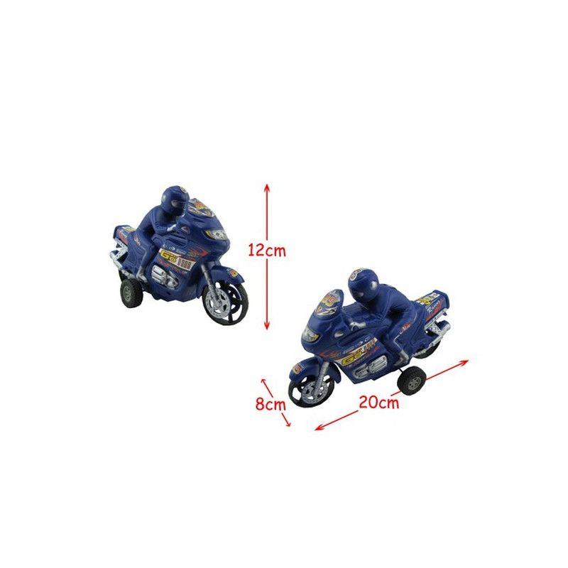 Moto et pilote 20 cm kermesse Jouets et articles kermesse 48950