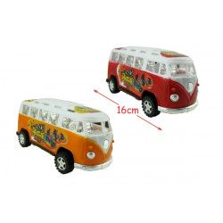 Mini bus friction 16 cm Jouets et kermesse 49186