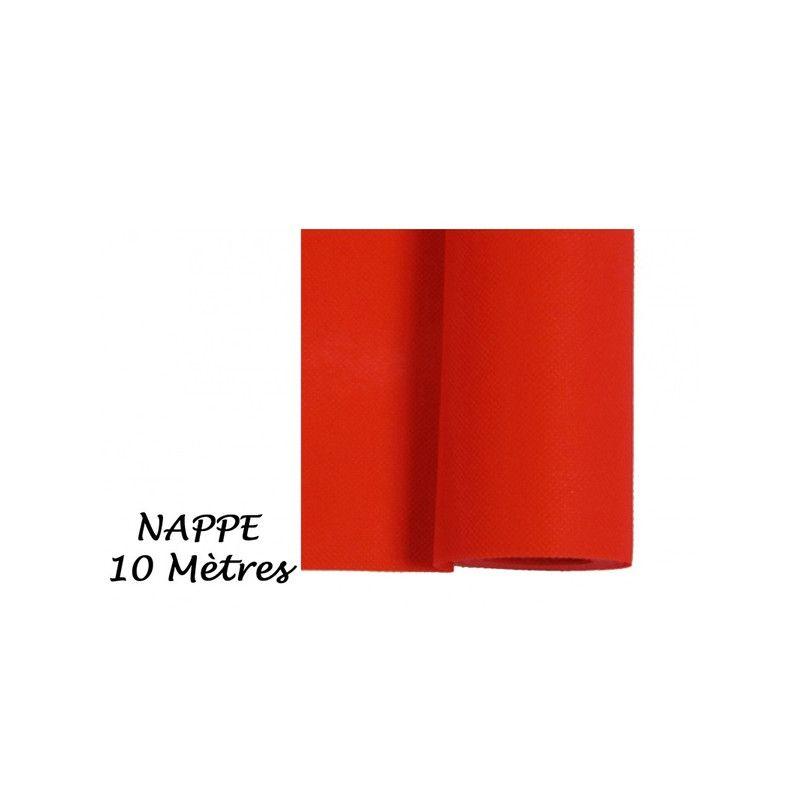 Nappe intissée 10 m - Rouge Déco festive 85528