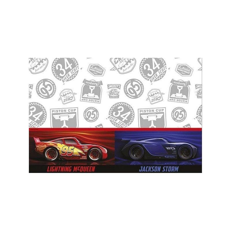 Nappe anniversaire 120x180cm Cars the Legend™ Déco festive LCAR89468