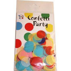 Déco festive, Sachet 15 grammes confettis 2.5 cm - Multicolore, 22605MU, 2,90€