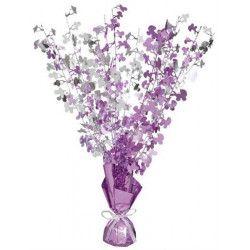 Centre de table et poids pour ballons Baby Shower rose fuchsia Déco festive U21423