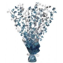 Déco festive, Centre de table et poids pour ballons Baby Shower bleu, U21424, 7,90€