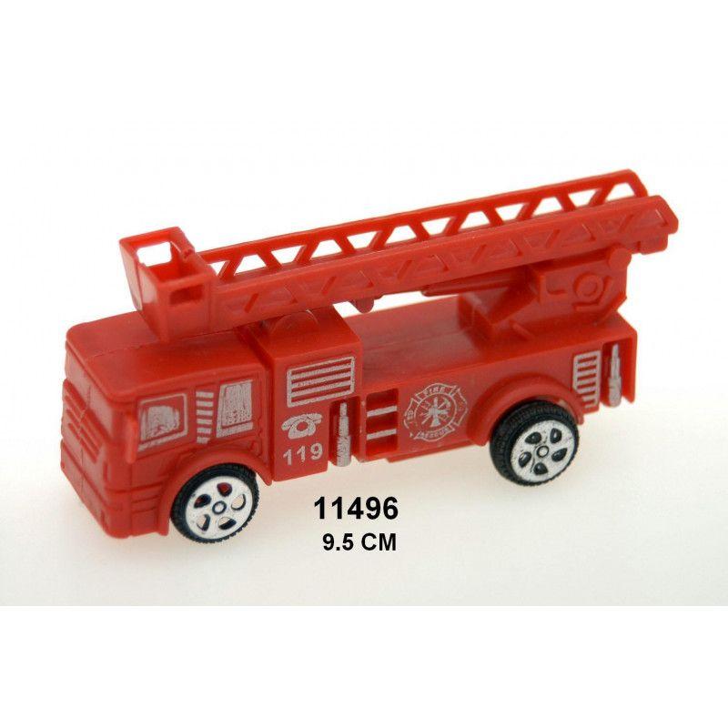 Lot 24 camions pompier rouges 9.5 cm Jouets et kermesse 11496-LOT