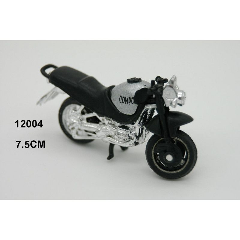 Moto plastique 7.5 cm vendue par 24 Jouets et articles kermesse 12004
