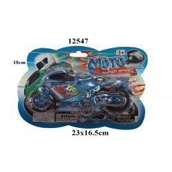 Jouets et kermesse, Moto rétro-friction 18 cm, 12547, 1,05€