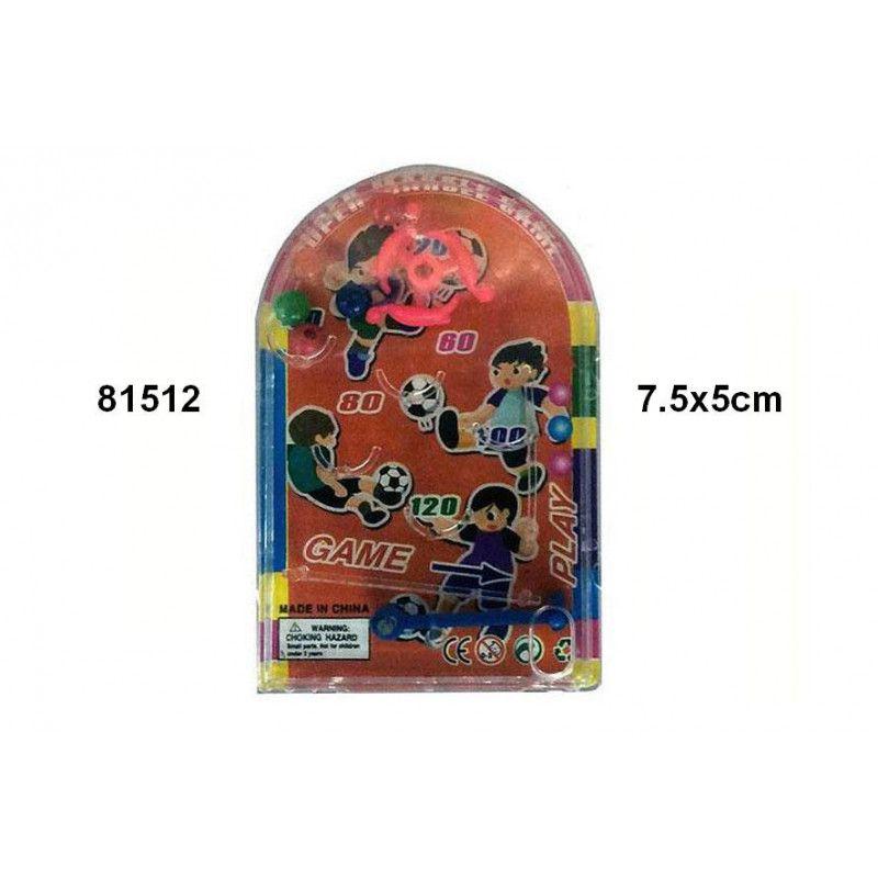Mini flipper 7.5 x 5 cm vendu par 24 Jouets et articles kermesse 81512-LOT