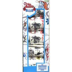 Jouets et kermesse, Coffret 5 feuilles de 13 tatouages chacune, 7866, 1,10€