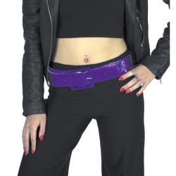 Ceinture disco violette Accessoires de fête 865090416