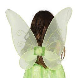 Ailes papillon vertes enfant Accessoires de fête 16362