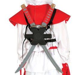 Epées Samouraï pour le dos Accessoires de fête 17414