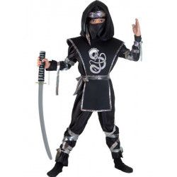 Déguisements, Déguisement dragon ninja enfant 6 ans, 40706-, 29,90€