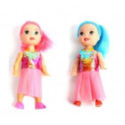 Jouets et kermesse, Lot 48 mini poupées mode 10 cm, 42168-LOT, 0,44€