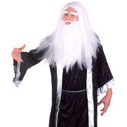 Accessoires de fête, Perruque Magicien Merlin, 71803, 16,90€