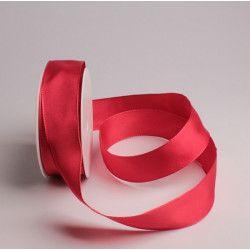 Ruban laitonné 25 m x 38 mm - rouge Déco festive 62957