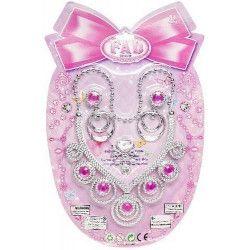 Jouets et kermesse, Set 3 pièces bijoux princesse, 0646, 1,00€