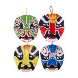 Peluche masque Chinois Jouets et kermesse 1765-LOT