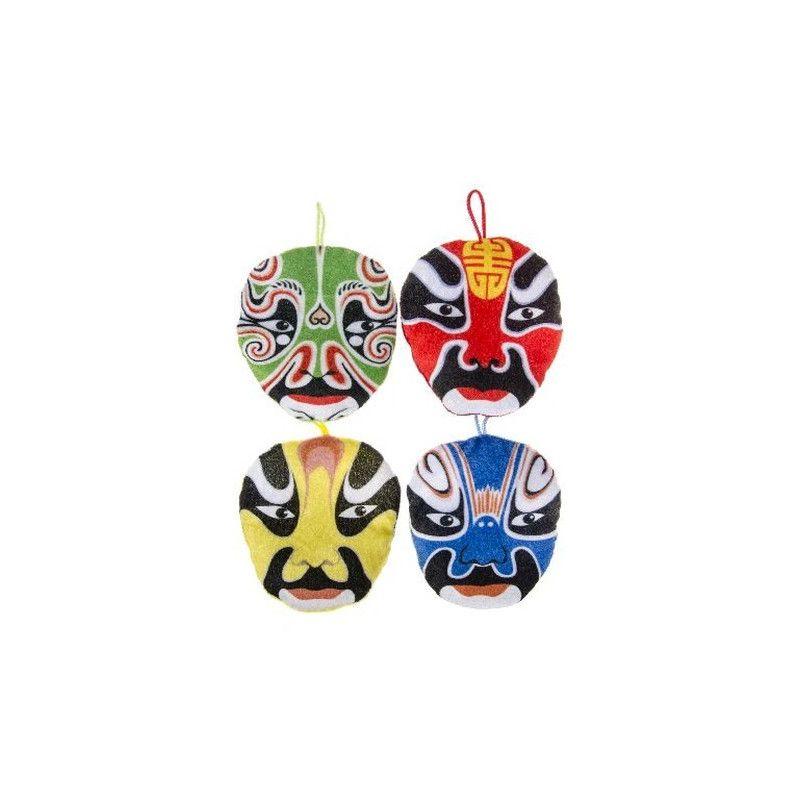 Peluche masque Chinois Jouets et articles kermesse 1765-LOT