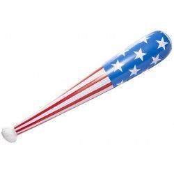 Jouets et kermesse, Batte baseball gonflable USA 82 CM, 4727, 1,50€