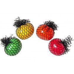 Balle anti-stress 6 cm coloris assortis kermesse vendue par 12 Jouets et kermesse 9267