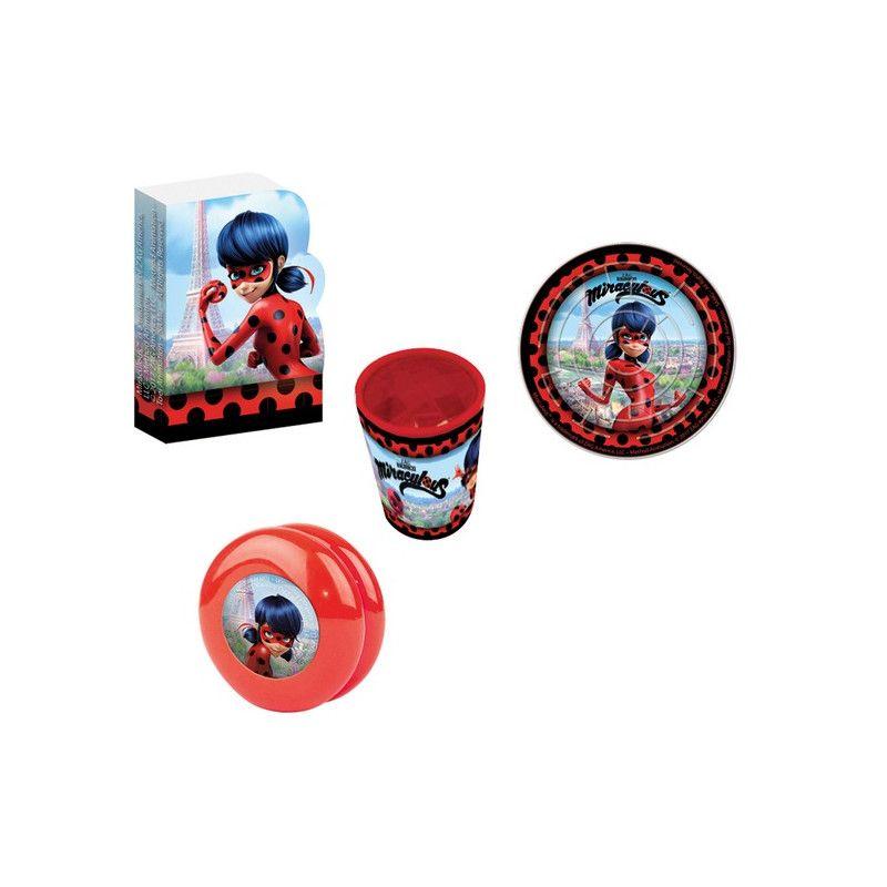 Lot 24 petits cadeaux Miraculous Déco festive 9902882
