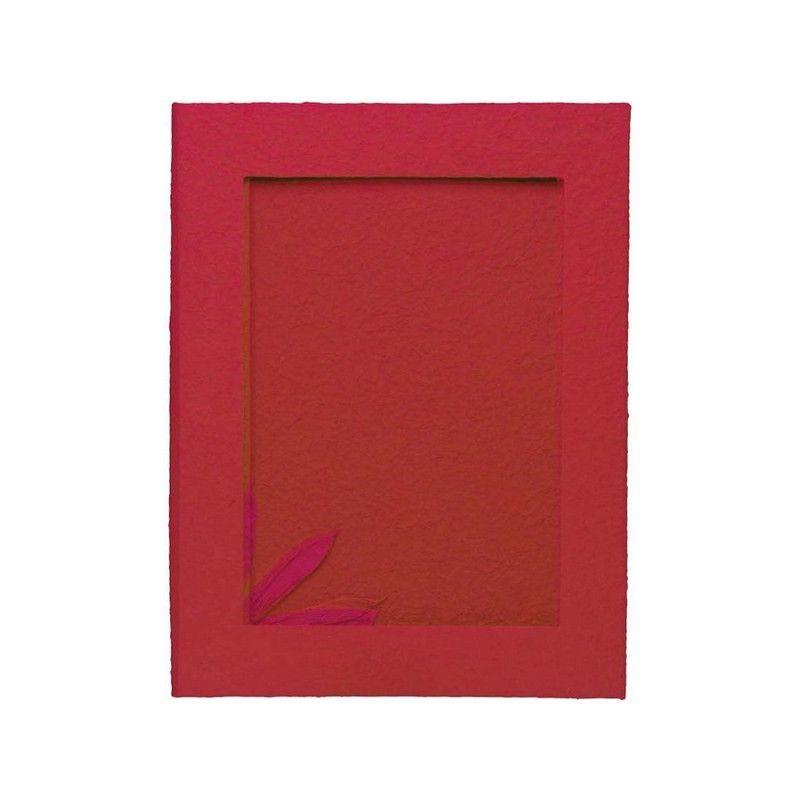 Livre d'or rouge grand modèle 40x30.5x2cm Déco festive 1700013-RGE