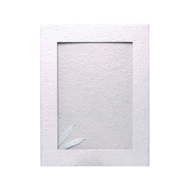 Déco festive, Livre d'or blanc petit modèle 21.5x26.5x2cm, 1700015-BLC, 16,50€
