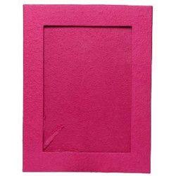Livre d'or fuchsia petit modèle 21.5x26.5x2cm Déco festive 1700015-F