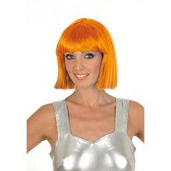Accessoires de fête, Perruque Crazy orange fluo, 1900020-OF, 7,90€