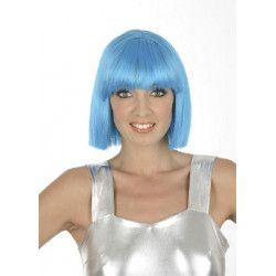 Perruque Crazy turquoise Accessoires de fête 1900020-T