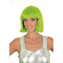 Perruque Crazy vert fluo Accessoires de fête 1900020-VF