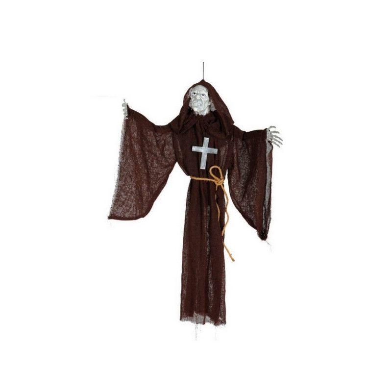 Moine à suspendre décoration halloween Déco festive 19726