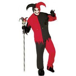 Déguisement Lord Joker bicolore homme taille S Déguisements 84789