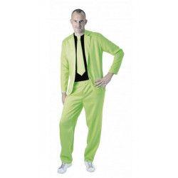 Déguisement fashion néon vert homme taille M-L Déguisements 865091820