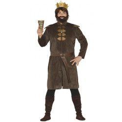 Déguisements, Déguisement roi médiéval homme taille XL, 88130, 23,90€