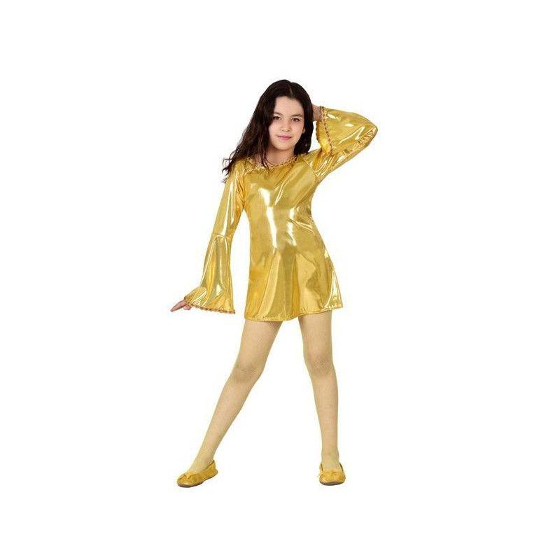 Déguisement disco doré fille 7-9 ans Déguisements 17815