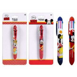 Jouets et kermesse, Stylo 7 couleurs Mickey ou Minnie, WA2054776, 1,90€