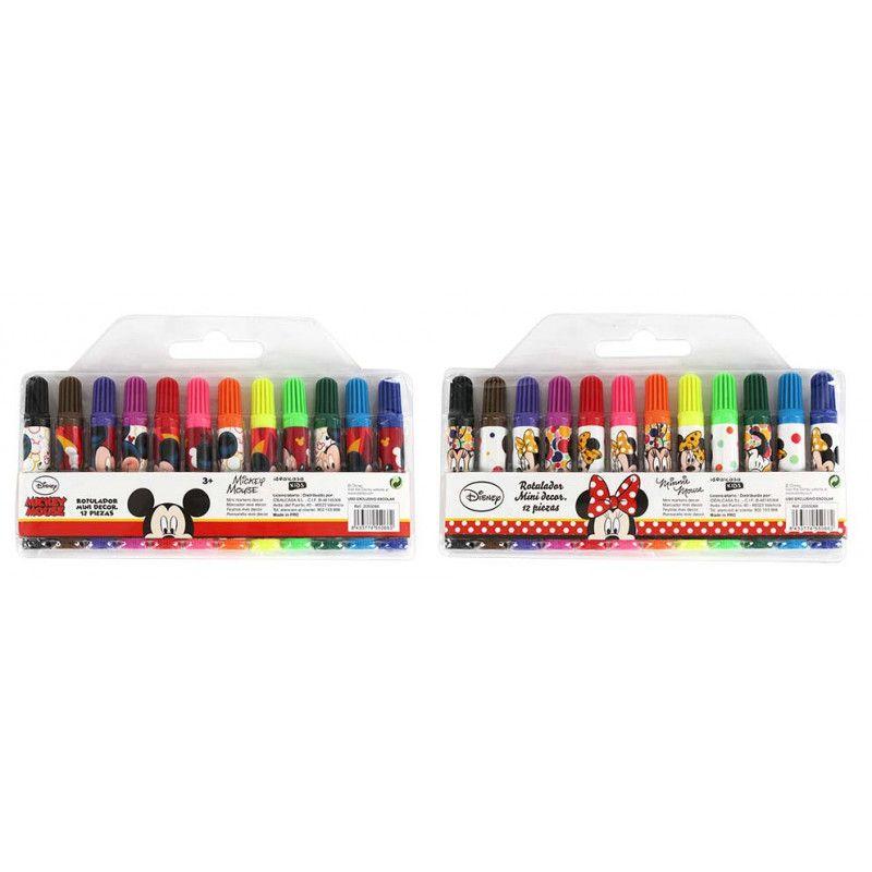 Crayons feutre Mickey ou Minnie Jouets et articles kermesse WA2055066