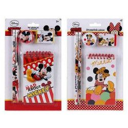 Jouets et kermesse, Set écolier 5 pièces Mickey-Minnie, WA2055086, 3,90€