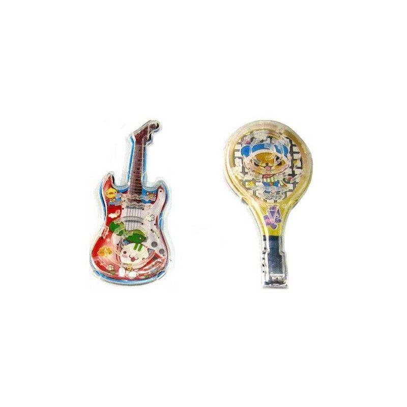 Jeu de patience guitare et raquette vendu par 48 Jouets et kermesse 18064-LOT