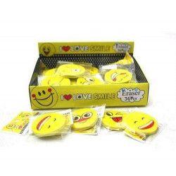 Gomme bonhomme sourire vendue par 36 Jouets et articles kermesse 1808-LOT